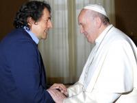 Begegnung-Papst